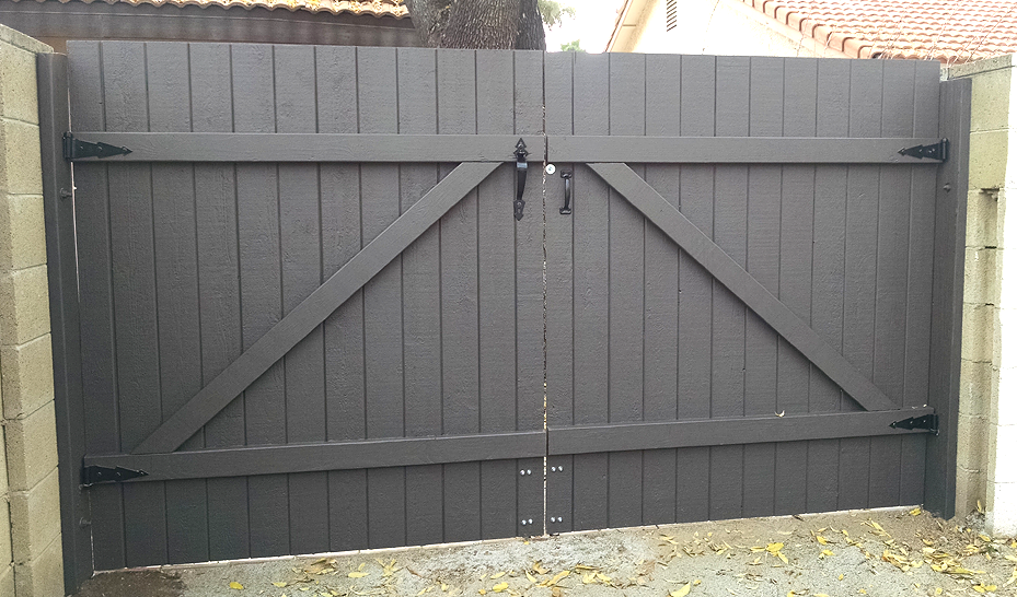 Gate Construction Replacement Double